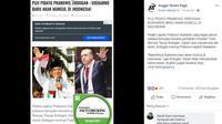 [Cek Fakta] Hoaks Pujian Erdogan untuk Prabowo Subianto