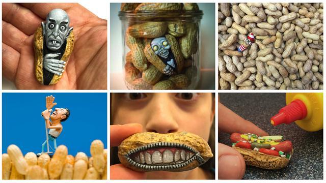 Karya Kreatif Dari Kulit Kacang Global Liputan6 Com