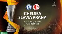 Liga Europa - Chelsea Vs Slavia Praha (Bola.com/Adreanus Titus)
