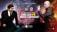 Chelsea vs Middlesbrough (Liputan6.com/Abdillah)