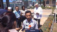 Budi Rahmansyah, anak buah Santoso menjalani hukuman di NTT. (Liputan6.com/Fachrur Rozie)