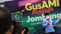 Wakil Ketua DPR RI Muhaimin Iskandar saat menemu masyarakat jombang, Jawa Timur. (Istimewa)