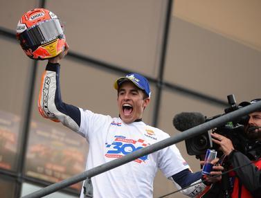 Marc Marquez Rajai Sirkuit Le Mans