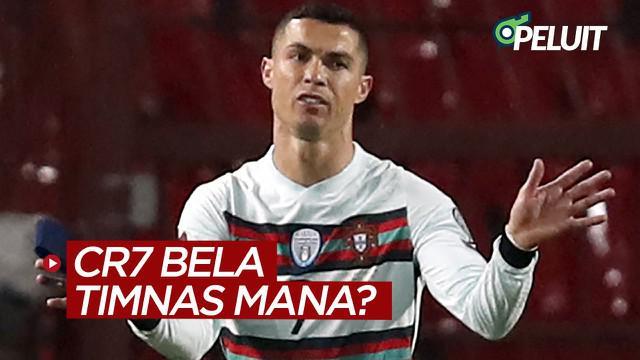 """Berita video beberapa warga diberi pertanyaan """"Cristiano Ronaldo membela Timnas Mana di Euro 2020?"""" dan beragam jawabannya bisa dilihat dalam rubrik Peluit kali ini."""