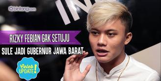 Sule dikabarkan akan jadi calon Gubernur Jawa Barat, ini kata Rizky Febian.