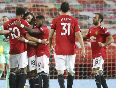 Berkat VAR, Manchester United Taklukkan West Bromwich Albion