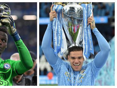 Foto: 10 Kiper Top Eropa yang Bersaing Memperebutkan Penghargaan Yashin Trophy 2021, Dominasi 4 Kiper Liga Inggris
