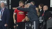 Bek Manchester United, Luke Shaw (kiri), bersama Jose Mourinho (Twitter/Luke Shaw).