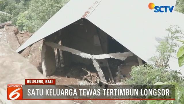 Saat kejadian sekitar pukul 04.00 pagi, korban tengah tertidur bersama istrinya Luh Sentiani dan dua anaknya Putu Rikasih dan Kadek Sutama.