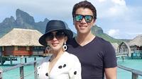 Syahrini dan Reino Barack bulan madu di Bora Bora. (dok. Instagram @princessyahrini/https://www.instagram.com/p/ByumiN-Bi1p/Putu Elmira)