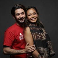 Reza Rahadian dan Adinia Wirasti, pemain film Criitical Eleven.
