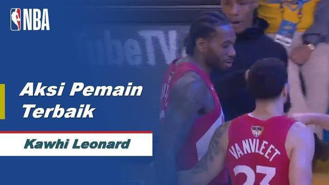 Berita video Kawhi Leonard layak menjadi pemain terbaik pada game 4 Final NBA 2019 antara Toronto Raptors melawan Golden State Warriors di Oracle Arena, Oakland, Sabtu (8/6/2019) pagi hari WIB.