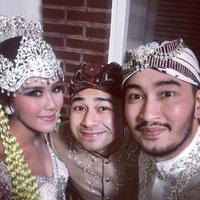 Raffi Ahmad bersama Syahnaz Sadiqah dan Jeje Govinda (Instagram/@raffinagita1717)
