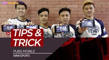 Berita video WAW memberikan tips untuk memenangkan permainan PUBG mobile.