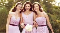 Beberapa selebritas Hollywood ini tampil sebagai seorang bridesmaids.