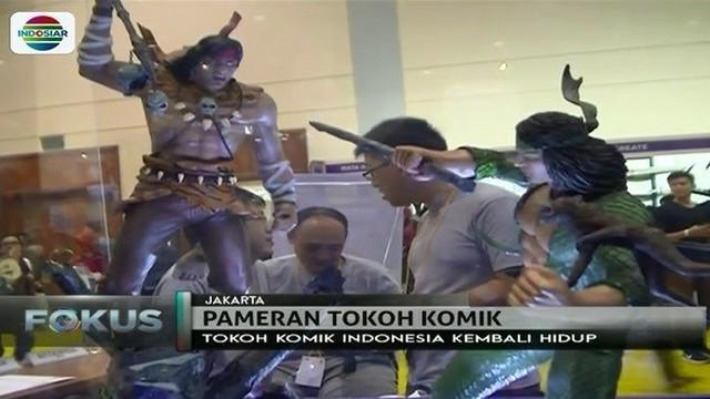 Tak hanya superhero luar negeri, Si Buta dari Gua Hantu asal Indonesia turut meramaikan Popcon Asia 2017.
