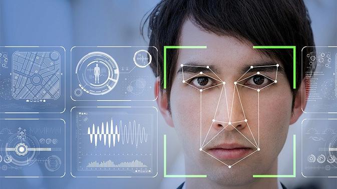 Teknologi pengenalan wajah (facial recognition). (Doc: Cisco)