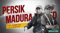 Piala Gubernur Jatim - Persik Kediri Vs Madura United  - Duel Pelatih (Bola.com/Adreanus Titus)