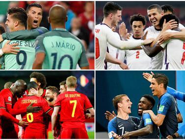 FOTO: 5 Negara Calon Kuat Juara Euro 2020, Inggris Bisa Buat Kejutan