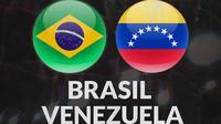 Kualifikasi Piala Dunia - Brasil Vs Venezuela (Bola.com/Adreanus Titus)