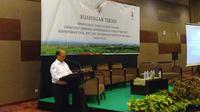 Sekretaris Jenderal Kemendes PDTT, Anwar Sanusi membuka Bimbingan Teknis Penanganan Daerah Rawan.