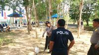 Potongan Payudara di Taman Bundaran Kantor Gubernur Sulteng (Liputan6.com/Ahmad Akbar Fua)