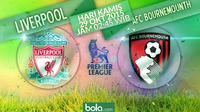 Liverpool vs AFC Bournemouth  (Bola.com/Rudi Riana)