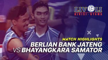 Berita Video Highlights Final Livoli 2019, Berlian Bank Jateng Vs Bhayangkara Samator 3-1