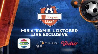 Berita video 27 hari lagi jangan lewatkan Shopee Liga 1 2020 dimulai kembali, jangan lewatkan hanya di Indosiar, O Channel, dan Vidio.