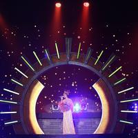 Sederet artis papan atas meramaikan acara malam puncak HUT SCTV ke-27. Acara itu juga dimeriahkan oleh penyanyi asal Amerika Serikat, Bebe Rexha. Salah satu artis yang menarik perhatian adalah Raisa. (Bambang E Ros/Bintang.com)
