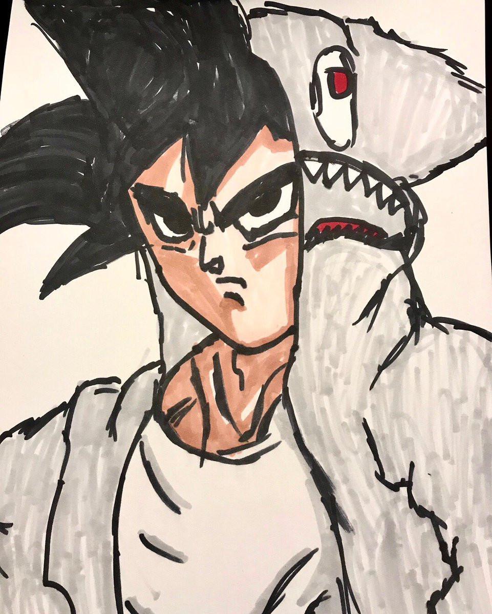 Karakter Son Goku di anime Dragon Ball karya putra Britney Spears. (Twitter - @britneyspears)