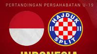 Timnas Indonesia - Timnas Indonesia U-19 Vs Hajduk Split U-19 (Bola.com/Adreanus Titus)
