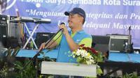 Direktur Utama PDAM Surya Sembada Mujiaman Sukirno (Foto: Liputan6.com/Dian Kurniawan)