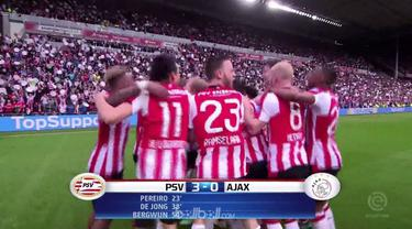 PSV Eindhoven memastikan gelar juara Eredivisie Belanda usai mengalahkan peringkat dua Ajax Amsterdam yang mengakhiri laga dengan ...