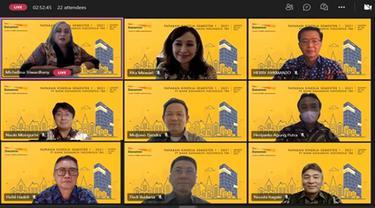 Paparan kinerja keuangan Bank Danamon, Rabu (28/7/2021) (Dok: Bank Danamon)