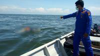 Tiga jasad misterius mengapung di perbatasan Malaysia. (Liputan6.com/M Syukur)