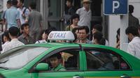 Taksi di Korea Utara (Business Insider)