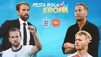 Piala Eropa - Euro 2020 Inggris Vs Denmark - Head to Head (Bola.com/Adreanus Titus)