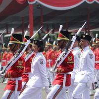 Berasal dari Jawa Barat, ini profil Tarrisa Maharani Dewi, Paskibraka yang terpilih jadi Pembawa Baki Sang Saka Merah Putih.