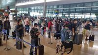 Diperkirakan kurang lebih sebanyak 65.000 calon penumpang akan terbang melalui Bandara Soekarno-Hatta saat libur panjang akhir Oktober. (Dok AP II)