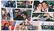 Kolase - Cristiano Ronaldo dan Georgina Rodriguez (Bola.com/Adreanus Titus)