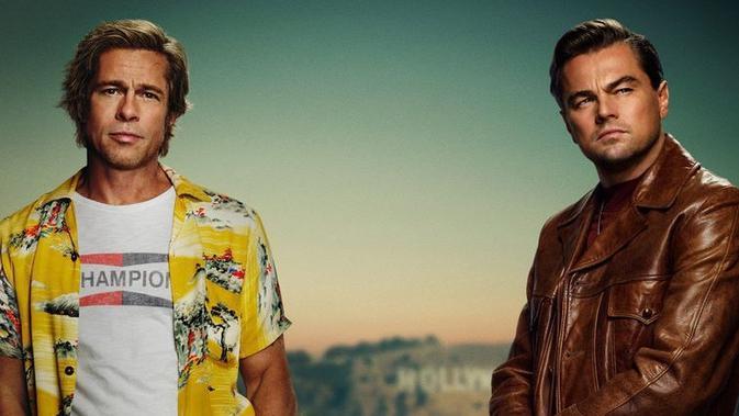 Leonardo DiCaprio dan Brad Pitt Adu Akting di Film Baru, Siapa Favoritmu?