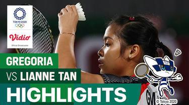 Berita video beberapa aksi memukau dari Gregoria Mariska Tunjung saat mengalahkan wakil Belgia yang punya darah Indonesia, Lianne Tan, di fase grup bulutangkis tunggal putri Olimpiade Tokyo 2020, Rabu (28/7/2021).