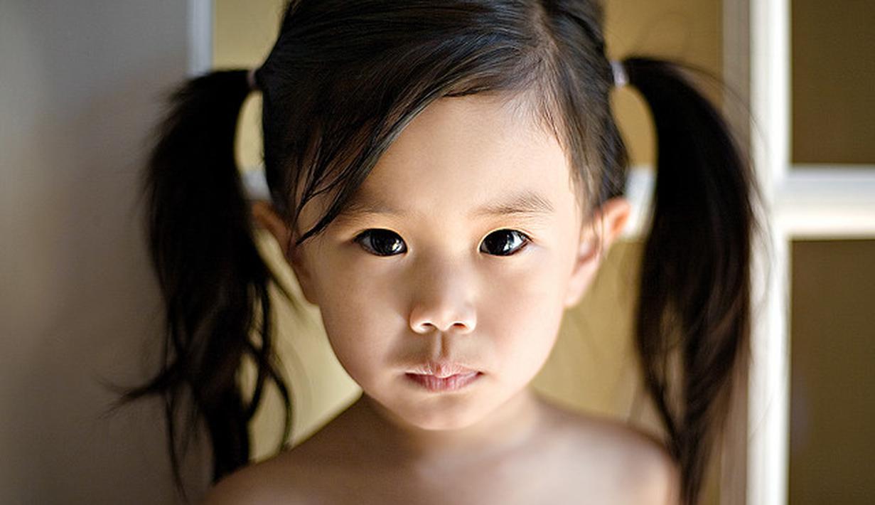 Model Ikat Rambut Pendek Anak Perempuan - Model Rambut ...