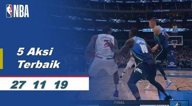 Berita Video 5 Aksi Pemain Terbaik NBA 27 November 2019, Kawhi Leonard salah satunya