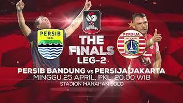 Berita video jelang leg 2 final Piala Menpora antara Persib Vs Persija, Minggu malam (25/4/21).