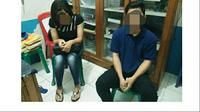 Saat digerebek anggota Propam, kedua polisi itu ditemukan tanpa busana di kamar mandi rumah dinas di Asrama Polisi. (Liputan6.com/Apriawan)