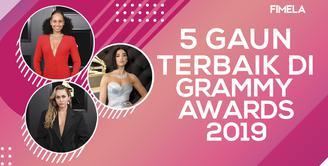 5 Gaun Terbaik di Grammy Awards 2019