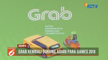 Dukung penyelenggaraan Asian Para Games 2018, Grab berikan promo bagi kaum penyandang disabilitas.