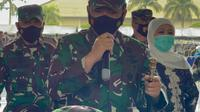 Panglima TNI Marsekal Hadi Tjahjanto (Foto:Merdeka/Genan Kasah)